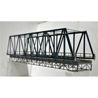 火车模型沙盘场景建筑模型~1:87 中国铁路桥~单线钢架结构桥梁~品质定制新品