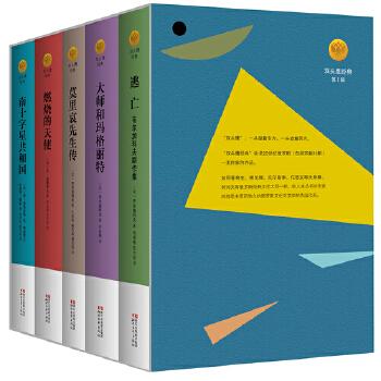 双头鹰经典(套装) 《逃亡——布尔加科夫剧作集》、《大师和玛格丽特》、《莫里哀先生传》、《燃烧的天使》、《南十字星共和国——俄国象征派小说选》,20世纪俄罗斯、苏联文学史上的重要作家布尔加科夫等人的作品集