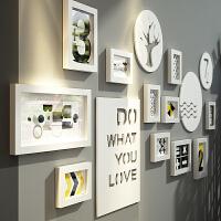 简约现代北欧相片墙客厅相框创意挂墙组合照片墙装饰相框墙