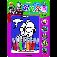 【新书店正版】咸蛋超人创意沙画-正义使者谭树辉知识出版社9787501579938