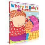 英文原版纸板书 Where Is Baby's Puppy?宝宝的小狗在哪里? 儿童绘本读物 英语训练 启蒙早教睡前故