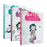 英文原版Daisy Dreamer系列2本套装 梦想家黛西 女生喜爱 美国小学趣事故事英语桥梁章节书 课外阅读提升英语