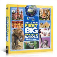 英文原版 美国国家地理彩色百科Little Kids First Big Book of the World 儿童认知