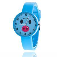 果冻手表儿童手表学生小猪卡通可爱软妹学生小清新手表