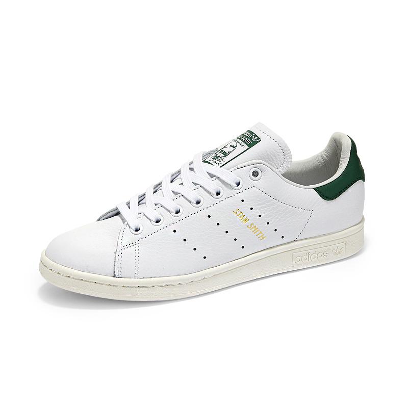 【新品】阿迪达斯男鞋三叶草女鞋stan smith史密斯深绿尾金标小白鞋板鞋CQ2871