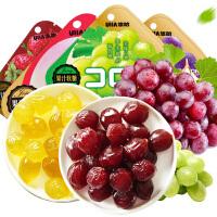 悠哈味觉糖果汁软糖52g 水果糖 休闲零食
