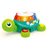 爬行龟玩具电动玩具手拍鼓儿童玩具1-3岁爬行玩具