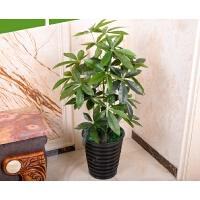 假树小树墩发财树仿真植物树绿植盆栽景客厅办公室落地塑料装饰花