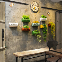 创意装饰品挂件绿植盆栽壁挂