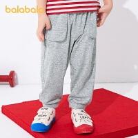 【券后预估价:41.9】巴拉巴拉童装男童裤子宝宝长裤儿童夏装束脚裤休闲时尚潮