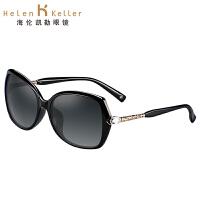 海伦凯勒太阳镜女款 2016新款闪耀水晶手工打造娇柔气质时尚风范墨镜H8507