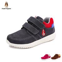 s/暇步士童鞋男童新款反绒皮运动鞋休闲鞋P61127