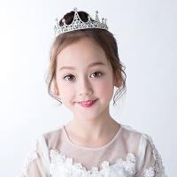 儿童发饰夹皇冠头饰品公主淑女王冠发箍女童头箍发卡子