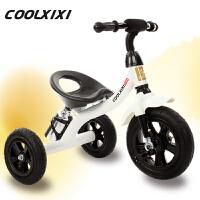 儿童脚踏车婴儿玩具车充气轮1-2-3-4岁自行车三轮车童车宝宝