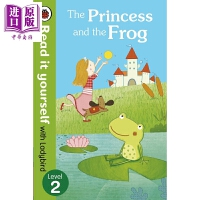 【中商原版】小飘虫独立阅读系列:公主与青蛙Princess and Frog 独立阅读 分级读物 亲子绘本 故事书 4