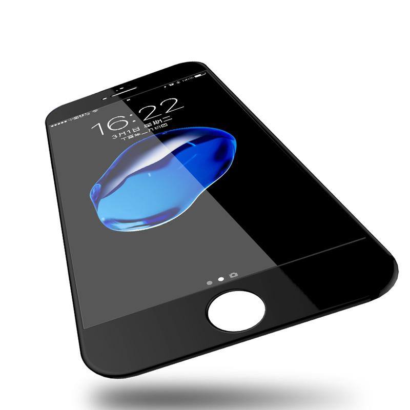 苹果6钢化膜iPhone6sPlus手机5D全屏全包边4.7蓝光6s玻璃4D屏保