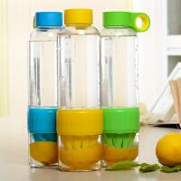 大容量塑料太空杯创意榨汁杯男女学生便携户外水杯果汁杯