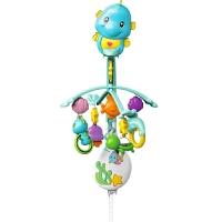 宝宝哄睡音乐旋转玩具 婴儿DFP12小海马旋转床铃玩具0-1岁