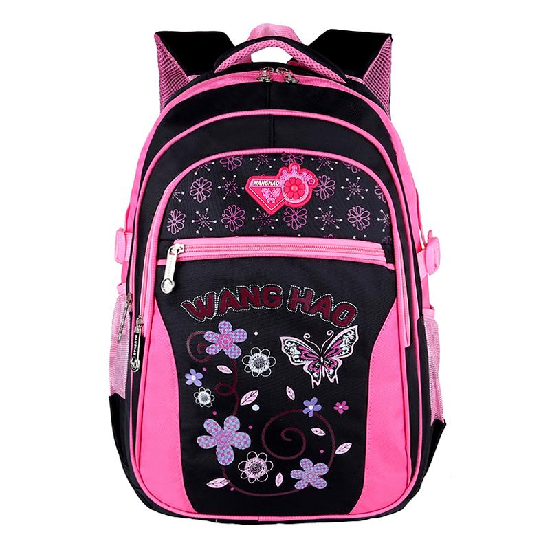 双肩背包韩版公主风书包小学生女1-34-6年级女童