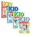 【中商原版】Kid Normal麻瓜小子系列3册 英文原版 少年文学 青少年小说 超级英雄小说 6-12岁