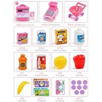 购物车小推车女孩女童收银机仿真超市套装0-6岁儿童玩具
