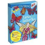 【预订】Fairies and Butterflies 3-D Coloring Box
