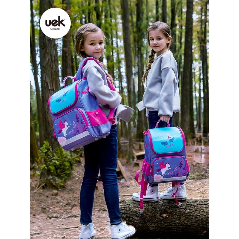 女童公主轻便女生双肩背包小学生书包1-3年级男孩女孩儿童校园