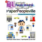 【中商海外直订】Jason Shelf's Paperpeople Universe: Paperpeoplevill