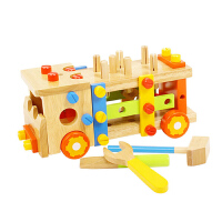 儿童积木玩具拆装车宝宝动手可拆卸螺母组合拼装工具男孩 积木玩具