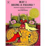 May I Bring a Friend? 英文原版儿童书 我可以带一个朋友么?(凯迪克金奖)