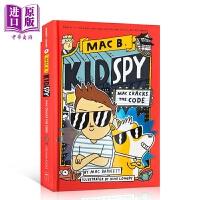 【中商原版】学乐桥梁书Mac B.Kid Spy系列4 Mac Cracks the Code 480L 儿童侦探冒险推