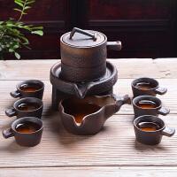 半全自动功夫茶具套装家用懒人石磨泡茶创意礼品茶具