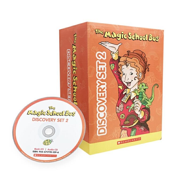 Magic School Bus Discovery Set2 (with CD)神奇校车·桥梁书版(第二辑10册+进口原版CD)ISBN9555717701074