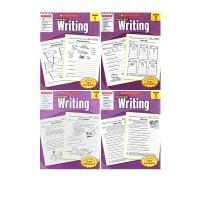 (100减20)【1-5年级写作】英文原版学乐成功系列 Scholastic Success with Writing 1 2 3 4 5本 英语写作练习小学生练习册