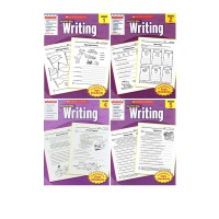 (100减20)英文原版学乐成功系列 Scholastic Success with Writing1 2 3 4 5本 英语写作练习小学生练习册