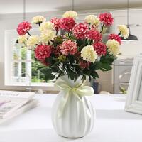 仿真花玫瑰花艺套装盆栽塑料假花卉装饰品绢花客厅餐桌摆件摆设
