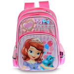 迪士尼 苏菲亚卡通书包小学生1-2-3年级儿童双肩背包 SS80051