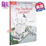 【中商原版】伦敦塔在哪里?英文原版 Where Is The Tower Of London? 儿童趣味百科 6-12