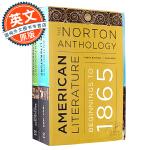 诺顿美国文学选集 第九版 Package 1 英文原版 The Norton Anthology of America