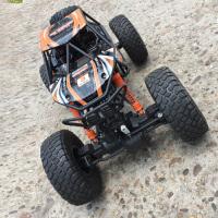 玩具儿童男孩车电动赛车大脚攀爬车 遥控车越野四驱车充电遥控汽车