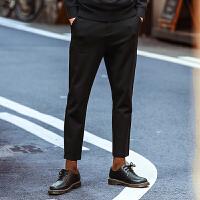 #森马牛仔裤男2160春季新款男士男裤修身小脚裤子韩版潮流长裤潮