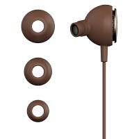 漫步者(EDIFIER)H293P Plus 入耳式耳机 立体声耳机 手机耳塞 咖啡色
