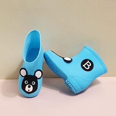 儿童雨鞋防滑男童女童雨靴公主小童小孩宝宝四季幼儿水鞋中童大童