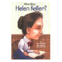 【现货】英文原版 Who Was Helen Keller? 海伦凯勒是谁 名人传记 中小学生读物