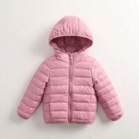女童羽绒服短款2018新款韩版洋气轻薄款儿童宝宝冬季棉衣外套
