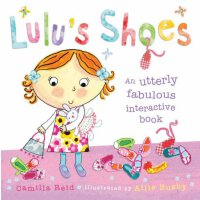 Lulu's Shoes 露露的鞋子【英文原版童书 露露大明星系列、故事图书操作书、趣味书 幼儿启蒙】