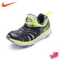 耐克童鞋17新款专柜正品男女童毛毛虫运动鞋小童跑步鞋 343738 620