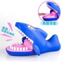 恶犬企鹅破冰整蛊玩具 咬手指大嘴巴鳄鱼玩具海盗桶咬手指鲨鱼小心