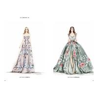 时尚视觉盛宴 婚纱插画 理论与案例解读 新娘配饰妆容形象 服装设计书籍