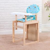 儿童餐椅实木宝宝餐椅多功能儿童餐桌椅宝宝座椅婴儿餐椅bb凳